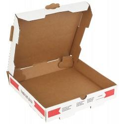 Pizza Kutusu l 22x22x4  l Beyaz Baskılı